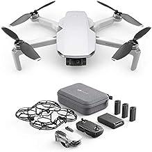 DJI Mavic Mini Combo - Dron Ultraligero y Portátil, Duración Batería 30 Minutos, Distancia Transmisión 2 Km, Gimbal 3 Ejes, 12 MP, Video HD 2.7K, 3 Baterías (Enchufe EU)