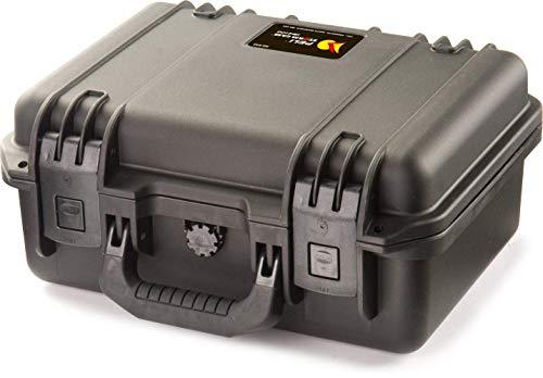 PELI Storm IM2100 valise de protection résistante aux chocs, capacité 12L, fabriquée aux États-Unis, sans mousse, couleur: noire