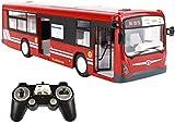 VanFty 2021 Nuevo Autobús Turista Toy Car 2.4G Control Remoto Autobús Autobús Modelo Modelo Control Remoto Toy Toy Eléctrico con Luz Y Regalos De Sonido para Niños Y Niñas Azul Cumpleaños