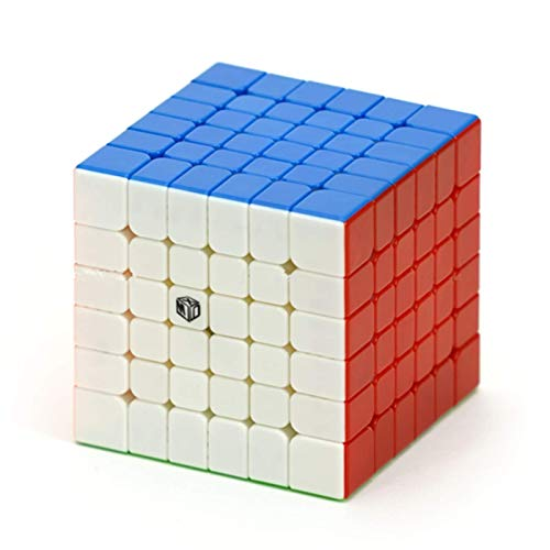 X-Man Design Shadow V2 M 6x6 Stickerless Speed Cube Qiyi Shadow M 6x6