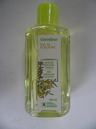 interdis Eau de cologne fraiche verveine citron mit zitrone und eisenkraut aus frankreich 65% vol.