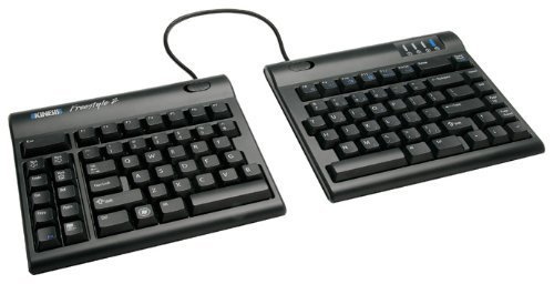 Kinesis KB800PB-DE-20 Freestyle Tastatur (QWERTZ, Größe: XL) schwarz