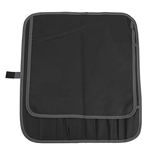 VGEBY Sac de Rangement pour Couteau étanche Outil Portable Pochette de Transport 11 Poches 600D Oxford Tissu Ferme Durable