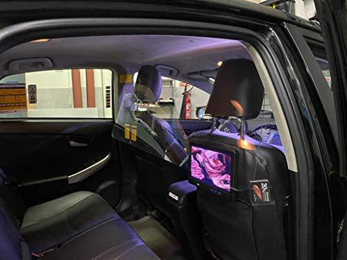 Mampara Protectora Vehículo Metacrilato 3mm 1 Unidad Coche (Metacrilato, 100 x 40 cm)