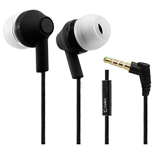 Pro Earbuds Works para Wacom Intuos Creative Stylus 2 Encore + manos libres micrófono integrado y audio nítido digitalmente claro (3,5 mm, 1/8, 1,1 m)