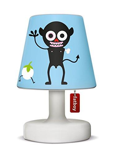 Fatboy Edison The Petit Tischlampe mit Fatboy Lampenschirm Cooper Cappie LTD. Nimus Blue - perfekte Akku LED Leuchte für den In- und Outdoor Bereich