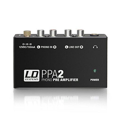 LD Systems ldppa2–ppa2preamplificatore equalizzatore RIAA per giradischi