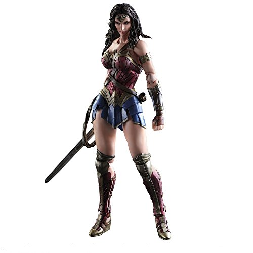 Batman v Superman Dawn of Justice Play Arts Kai Action Figure Wonder Woman 25 cm Square Enix Comics Figures