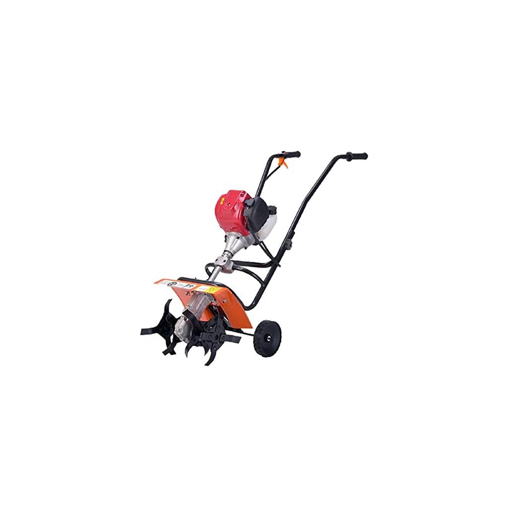 QILIN Motoculteur Essence, Motoculteur Thermique 2 Temps, Ameublement du Sol Et Désherbage À Double Usage, Largeur De…