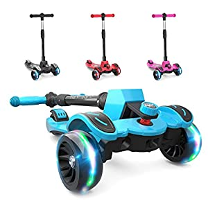 6KU Kids Kick Scooter with Adjustable Height