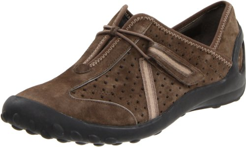 Clarks Women's Tequini Slip-On,Dark Gunsmoke,8 M US