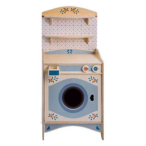 Dida - Mobiletto Lavatrice componibile Giocattolo in Legno per Bambini