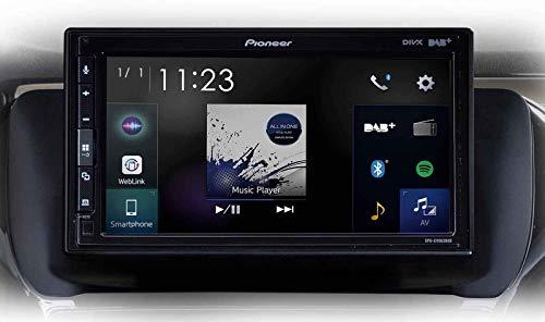 Pioneer SPH-EVO62DAB-208 - Radio de Coche Mp3 con Pantalla Táctil / DAB / Bluetooth / USB Para Peugeot 208