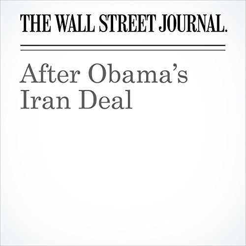 After Obama's Iran Deal copertina