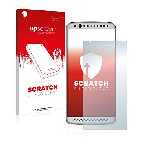 upscreen Schutzfolie kompatibel mit ZTE Axon 7 Mini – Kristallklar, Kratzschutz, Anti-Fingerprint