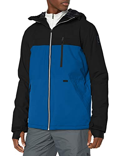 BILLABONG Herren All Day Snowboard Jacket Isolierte Jacke, blau, Klein