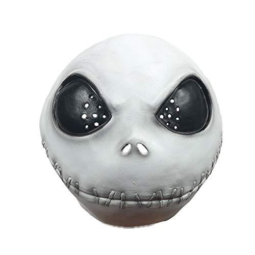 imisasa Máscara de Jack Skellington Noche Antes de Navidad Máscara de Halloween para niños