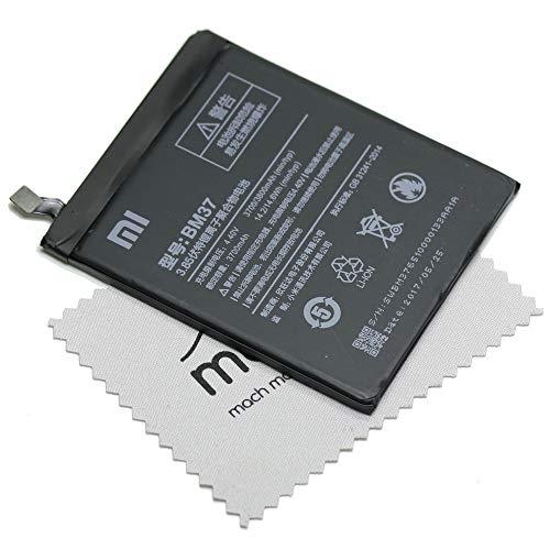 Batería para Xiaomi Original BM37 para Xiaomi MI 5 S Plus + paño mungoo