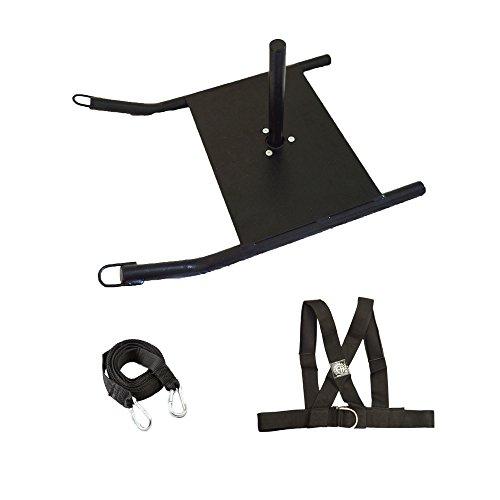 FH, professioneller Mini-Speed-Schlitten für Krafttraining, Schlitten mit gepolstertem Schultergurt