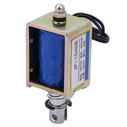 25N 24V electroimán anti-oxidación DC electroimán de fácil instalación JF-1040B electroimán de solenoide para máquinas expendedoras