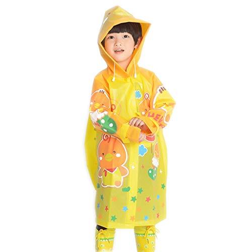 Regenjas S/M/L met tas voor kinderen groen Eva mannen en vrouwen kinderen