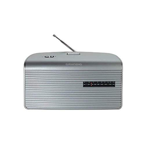 Grundig Music 60, empfangsstarkes Radio im modernen Design, silver