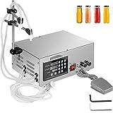 VEVOR 5-3500ml Liquid Filling Machine Riempimento automatico di liquidi 2 ugelli Riempitore di liquido a controllo digitale per liquidi a bassa viscosità (acqua, bevande, carburante, aceto, olio)