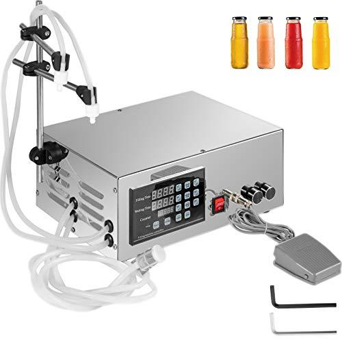 Mophorn Füllmaschine Flüssigkeit 5-3500ml Abfüllmaschine Flüssigkeiten Digitale Steuerung
