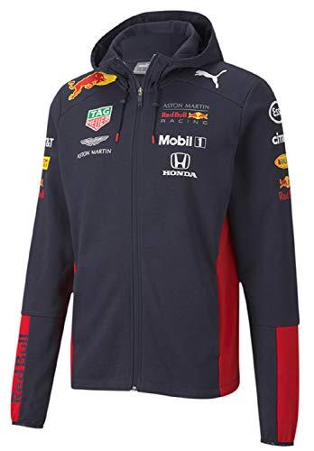 Red Bull Honda レッドブル レーシング ホンダ F1 チーム レプリカ ジップ フーデッド スウェット ジャケット 2020 (M:着丈69cm身幅56cm)