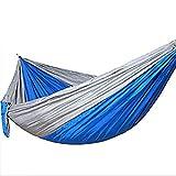 FMC Hamaca Acampar, Portátil Paracaídas Hamaca Al Aire Libre, Al Aire Libre Respirable Regalos del Jardín De Interior para Chicos