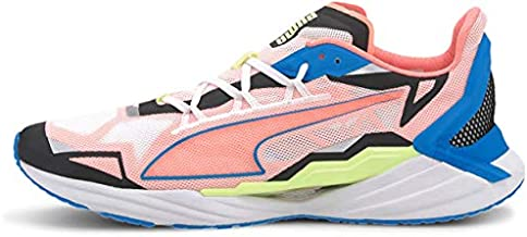 PUMA Men's Ultraride Running-shoe, White-nrgy Blue-nrgy Peach, 11