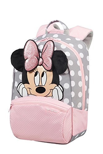Samsonite Disney Ultimate 2.0 Zaino 35 cm, 12 L, Multicolore (Minnie Glitter), S+, Multicolore (Minnie Glitter)