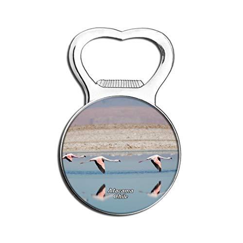 Weekino Flamingo Salt Lake Atacama Chili Aimant De Réfrigérateur Bière Ouvre-Bouteille Ville Voyage Souvenir Autocollant de réfrigérateur Fort