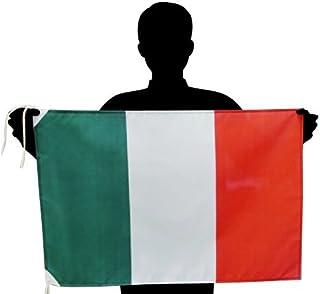 イタリア国旗 L トリコローレ 応援サイズ:50×75cm 高級テトロン製 日本製