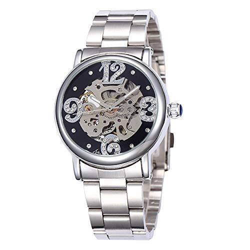 SJXIN Orologio meccanico di alta qualità, Shenhua 9352 / orologio meccanico automatico vuoto da donna (Color : 3)