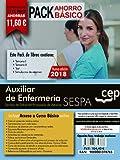 PACK AHORRO BASICO. Auxiliar de Enfermería del Servicio de Salud del Principado de Asturias. SESPA. (Incluye Temarios Vol. I, II, Test y Simulacros)