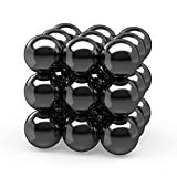 Cool Sicence Kit Set Magnetic Rings Gear, Large Fidget Magnets Spinner Hematite Magnetic Stones Educational Magnet for Kids Adults,Magnets for Office Home Neat Party Favors Supplies Gift XXL(18 PCS)