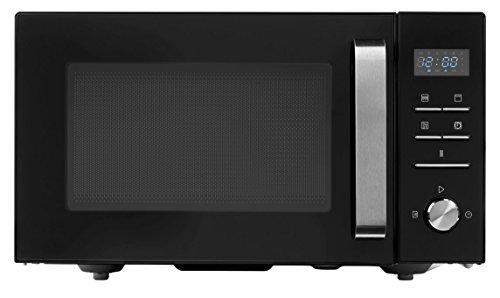 MEDION MD 18043 3in1 Mikrowelle (800 Watt Leistung, 23 Liter Kapazität, 10 Automatikprogramme, Auftaufunktion) schwarz