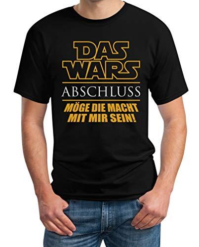 Uni - Das Wars - Abschluss - Geschenk zum Abschluss Herren T-Shirt Medium Schwarz