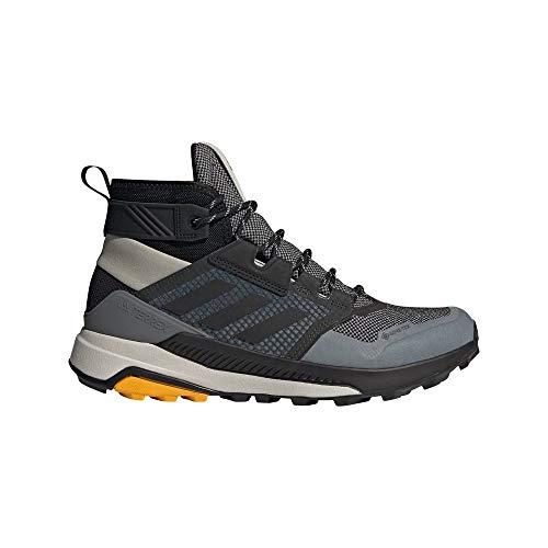 adidas Terrex Trailmaker Mid GTX, Zapatillas de Hiking Hombre, GRIMET/NEGBÁS/OROACT, 46 2/3 EU
