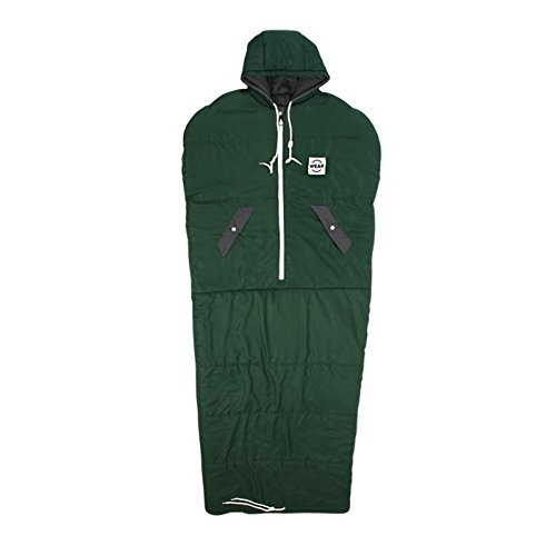 VINSONMASSIF Wearable Sleeping Bag for Camping, Hiking & Outdoors, Lightweight Sleeping Bag (Royal Green)