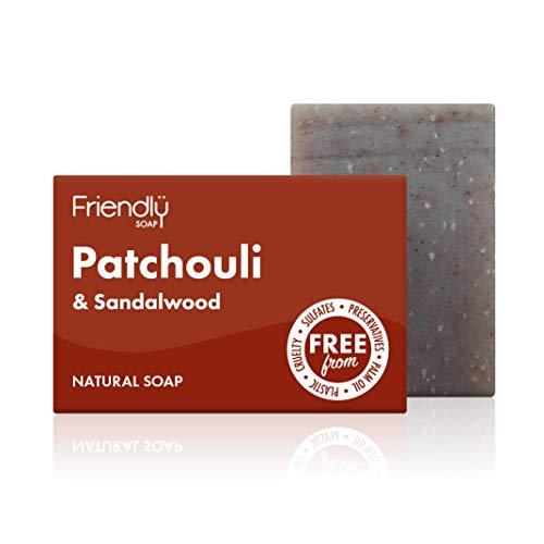 Friendly Soap Natural Patchouli & Sandalwood Soap 95g