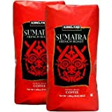 Kirkland Signature Sumatra Whole Bean Coffee 2-3lb Bags