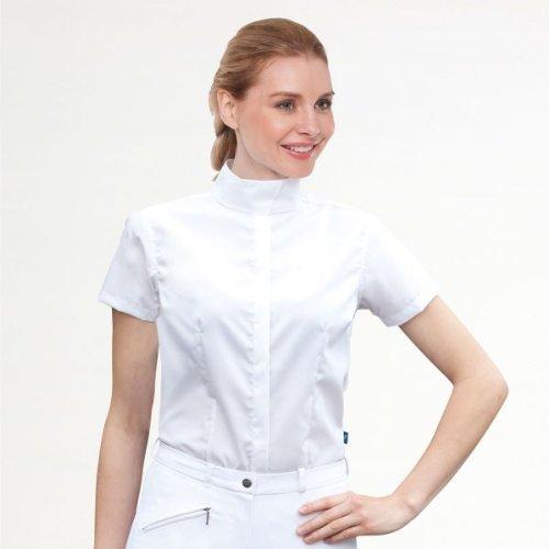 ELT Waldhausen sonja - Camicia da equitazione, Bianco (bianco), 46