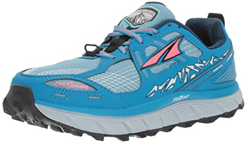 Altra Women's Lone Peak 3.5 Road Running Shoe, Blue - 10