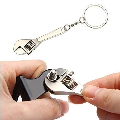 YSLR Schlüssel Schlüsselbund Edelstahl Autoschlüssel Ringschlüssel Schlüsselbund Schlüsselbund Schlüsselbund Werkzeuge