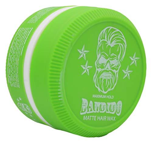 Bandido Matte Hair Wax Haarwachs Haar Styling Wachs Herren Haargel 150ml Matt Natürliches aussehen