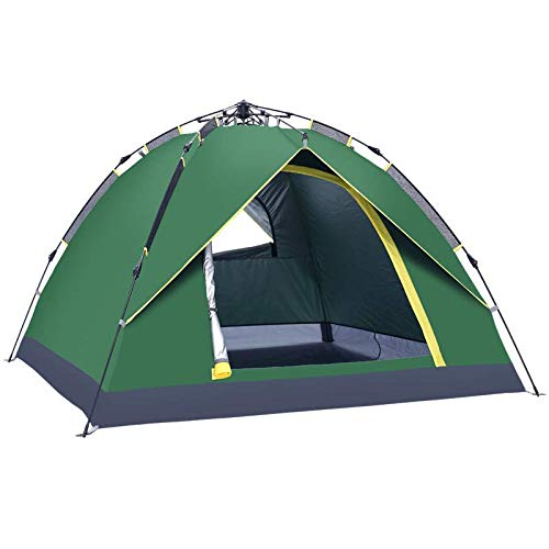DYX Thickening outdoor tent 2 automatic rain and sun camping tents