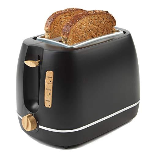 PROGRESS® EK3756PBLK-VDE Scandi 2-Scheiben-Toaster, 870W, schwarz
