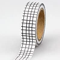 MINGTAI 15ミリメートル* 10M装飾黒と白の日本の和紙テープセット粘着テープManualスクラップブッキングペーパーフォトアルバムマスキングテープ (Color : NO.439)